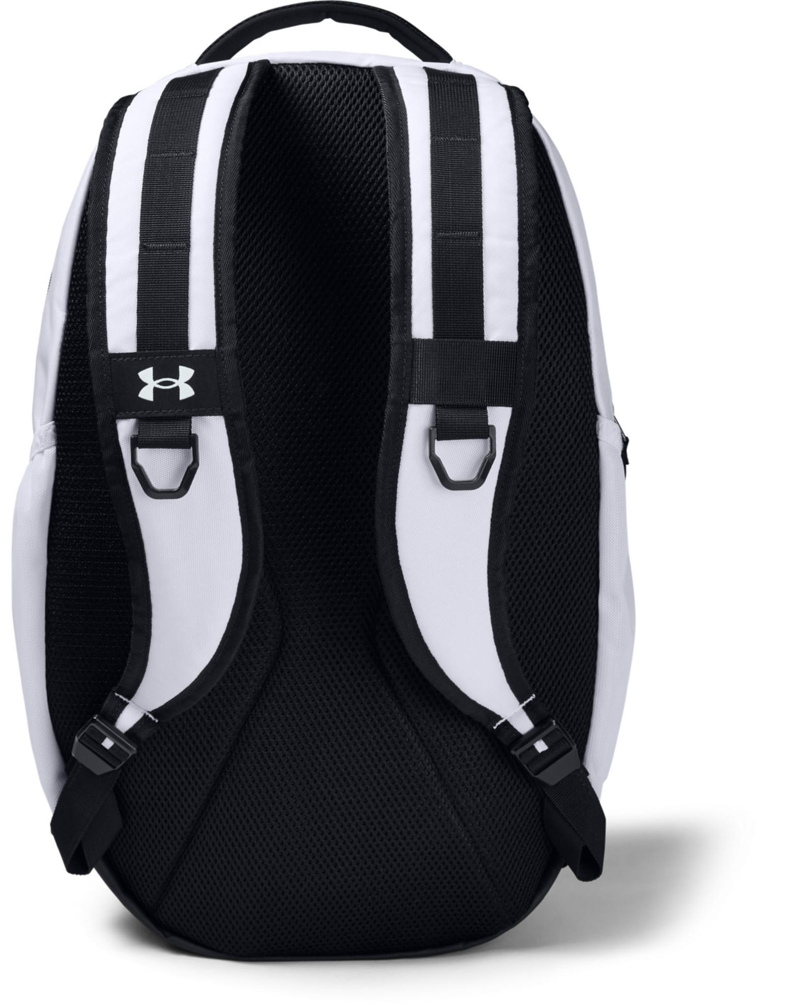 Under Armour UA Hustle 5.0 Backpack-WHT,OSFA