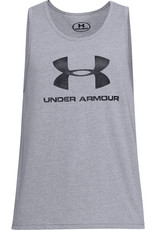 Under Armour UA SPORTSTYLE LOGO TANK-GRY
