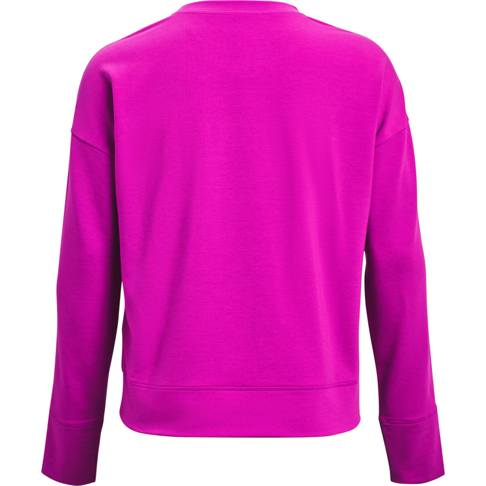 Under Armour UA Rival Terry Taped Crew-PNK