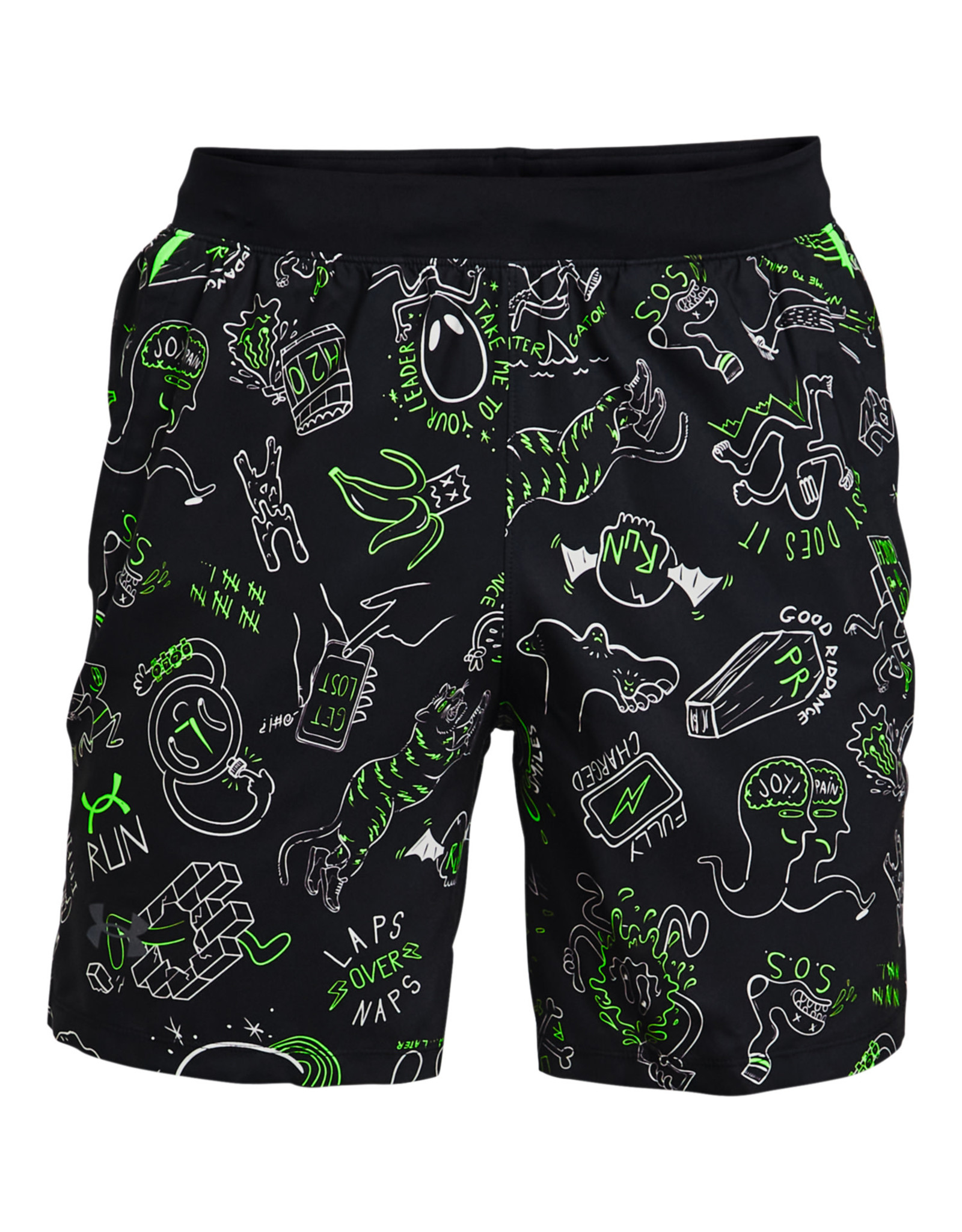 Under Armour UA Run Ur Face Off Short-BLK