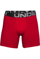 Under Armour UA Charged Cotton 6in 3 Pack-RED