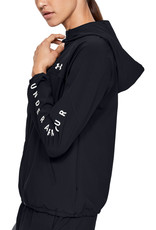 Under Armour Woven Hooded Jacket-BLK
