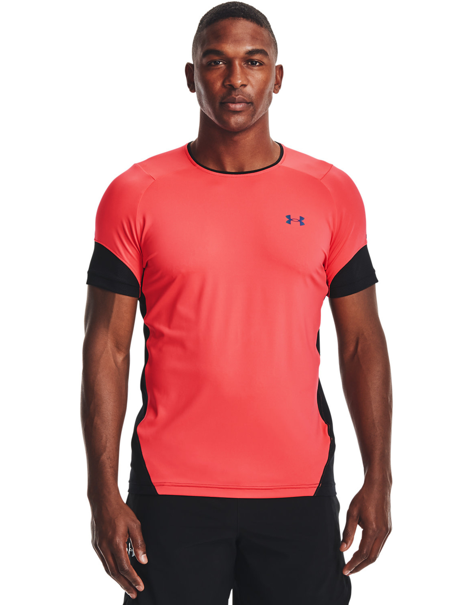 Under Armour UA HG Rush 2.0 SS-RED