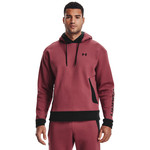Under Armour UA Recover Fleece Hoodie-RED