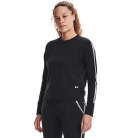 Under Armour UA Rival Terry Taped Crew-BLK