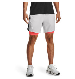 Under Armour UA Launch SW 7'' 2N1 Short-GREY
