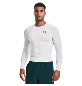 Under Armour UA HG Armour Comp LS-WHT