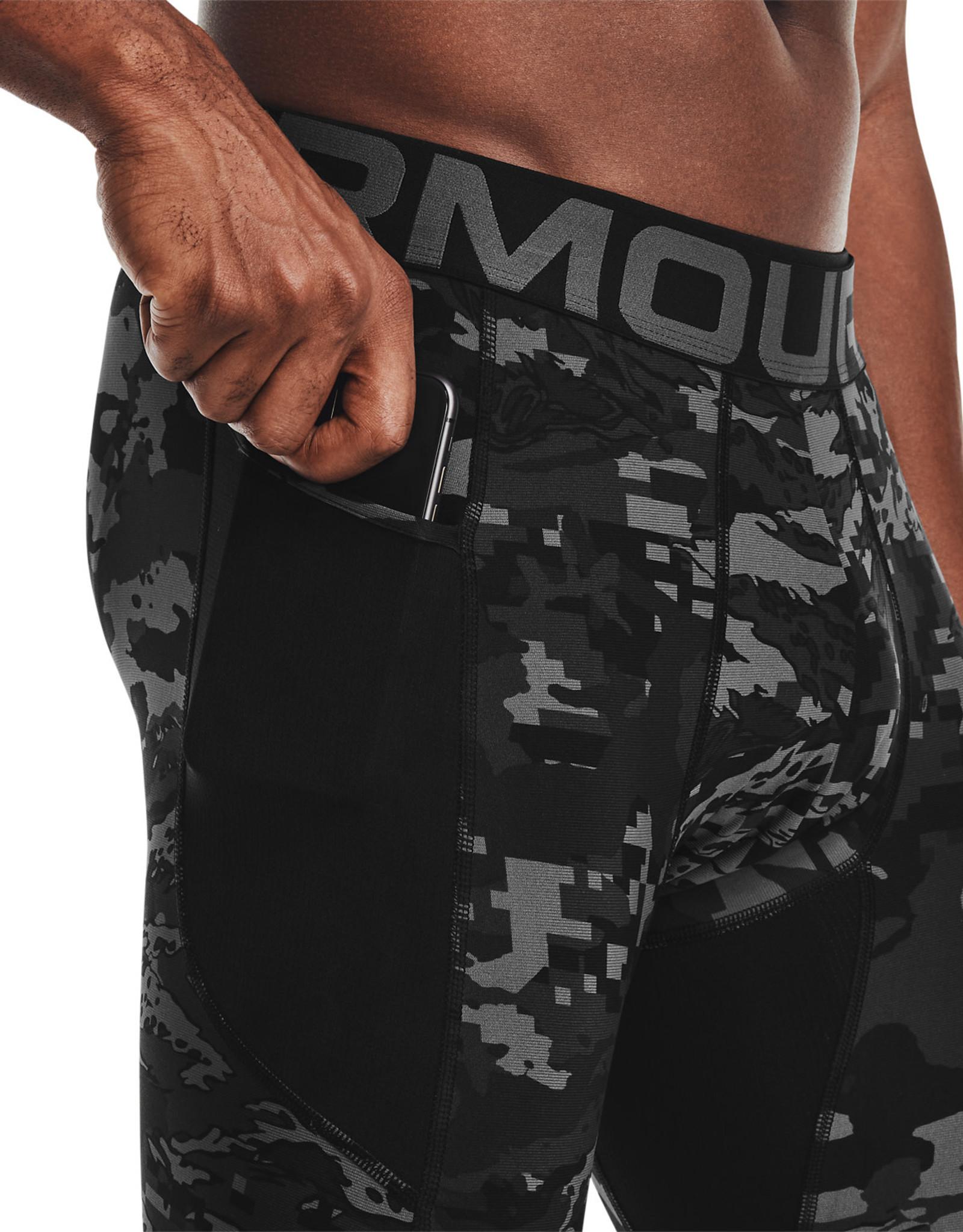 Under Armour UA HG Armour Camo Lgs-BLK