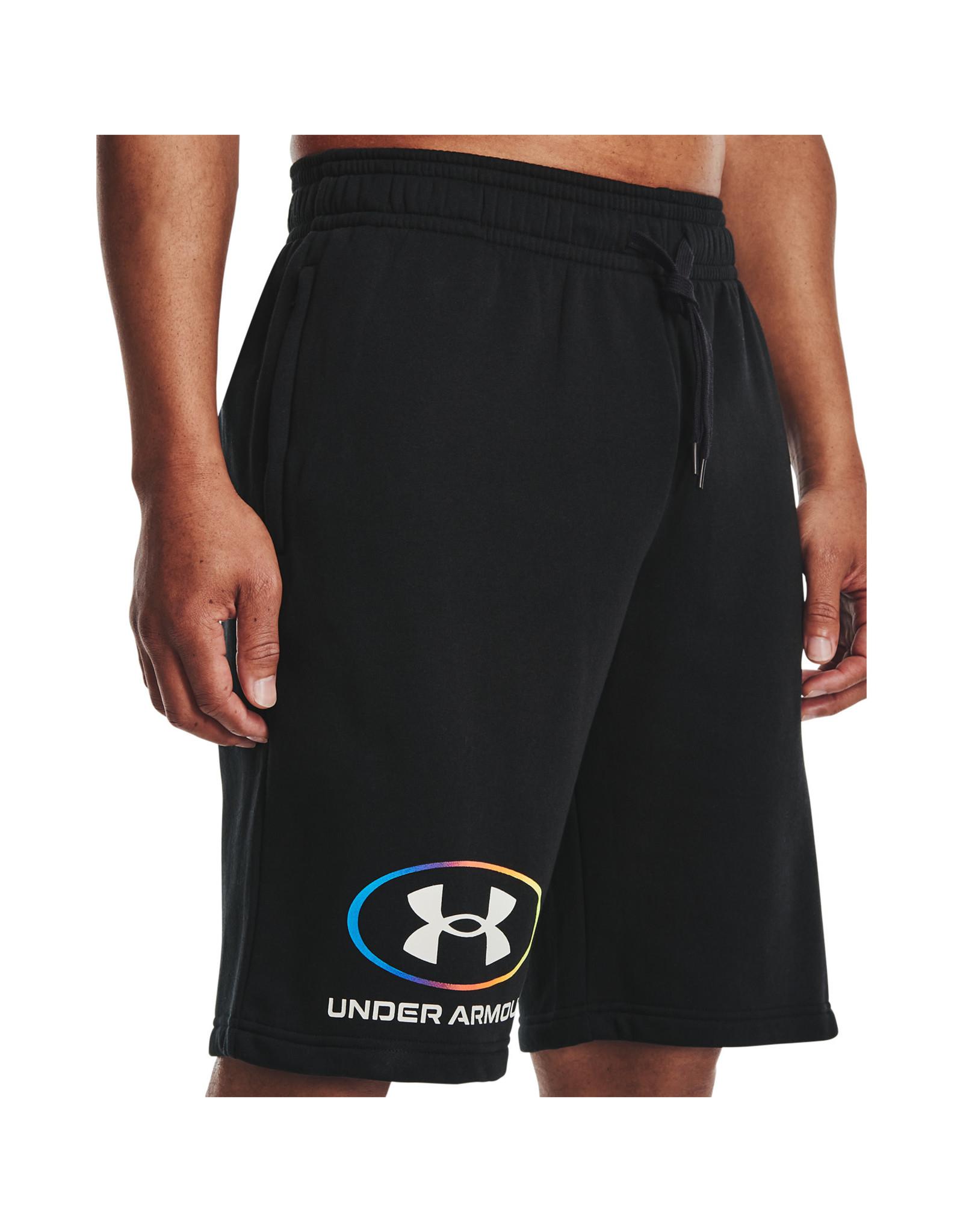 Under Armour UA Rival Fleece Lockertag Short-BLK