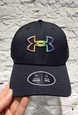 Under Armour UA Pride Trucker Cap - BLACK - OSFM