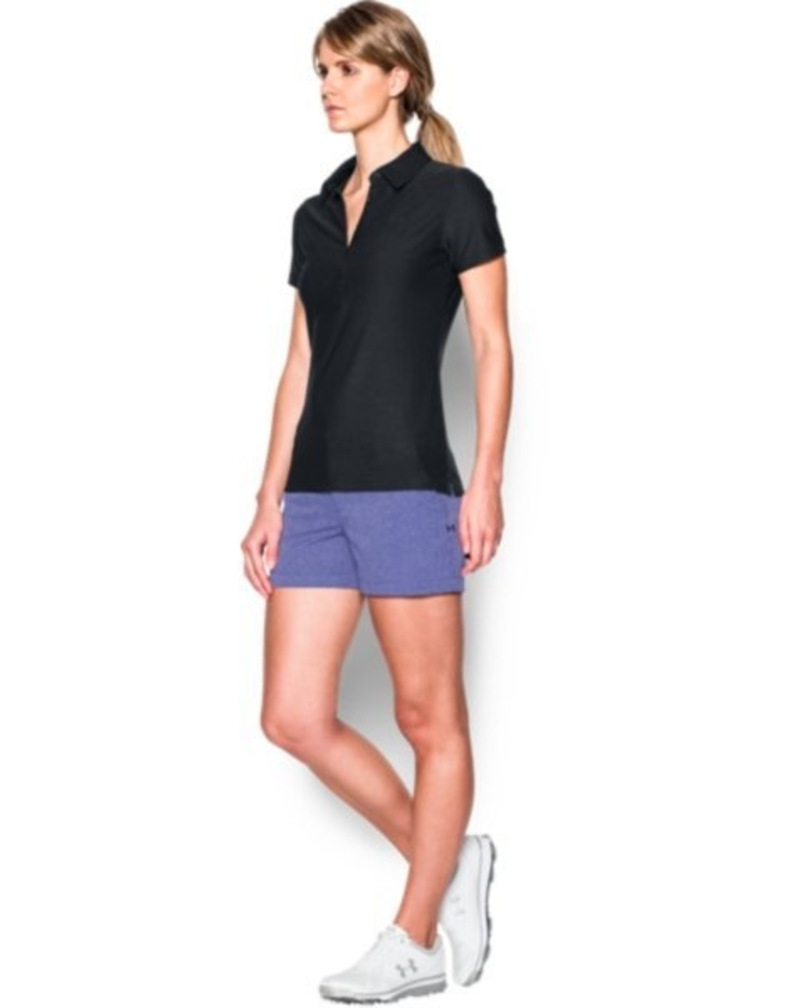 Under Armour Zinger SS Polo - black