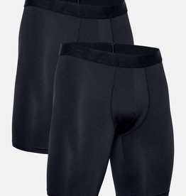 Under Armour UA Tech Mesh 9in Boxers 2 Pack-BLK