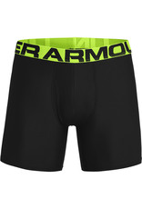 Under Armour UA Tech 6in Boxers 2 Pack-BLK
