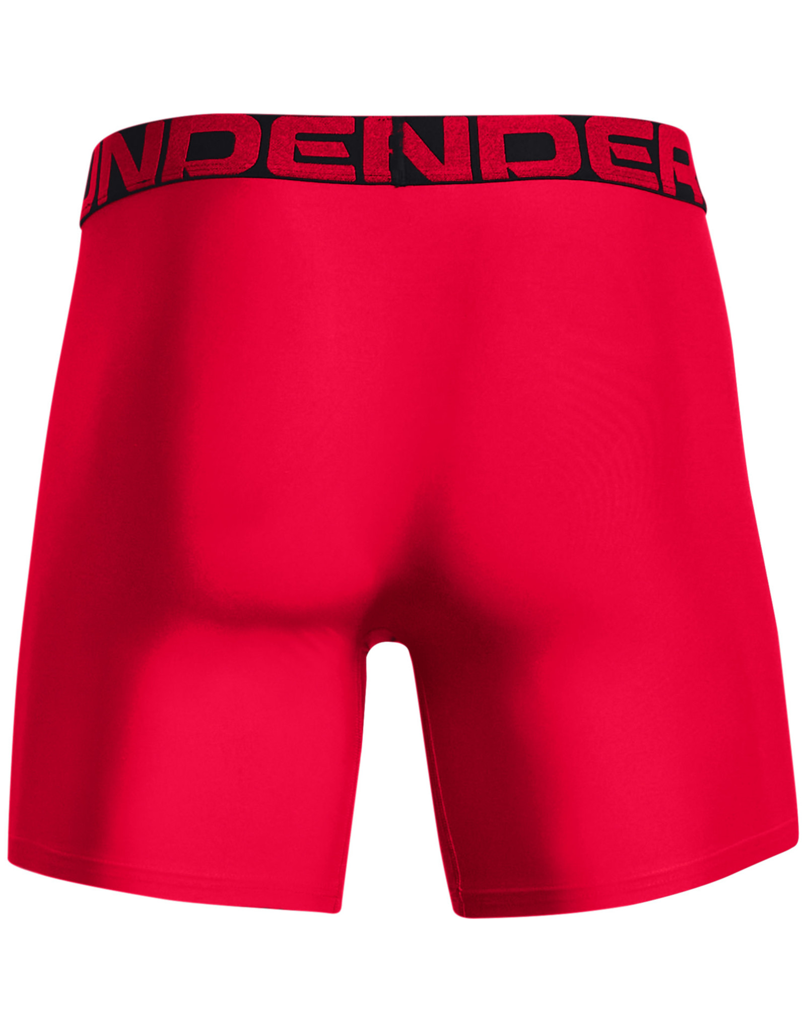 Under Armour UA Tech 6in Boxers  2 Pack-RED
