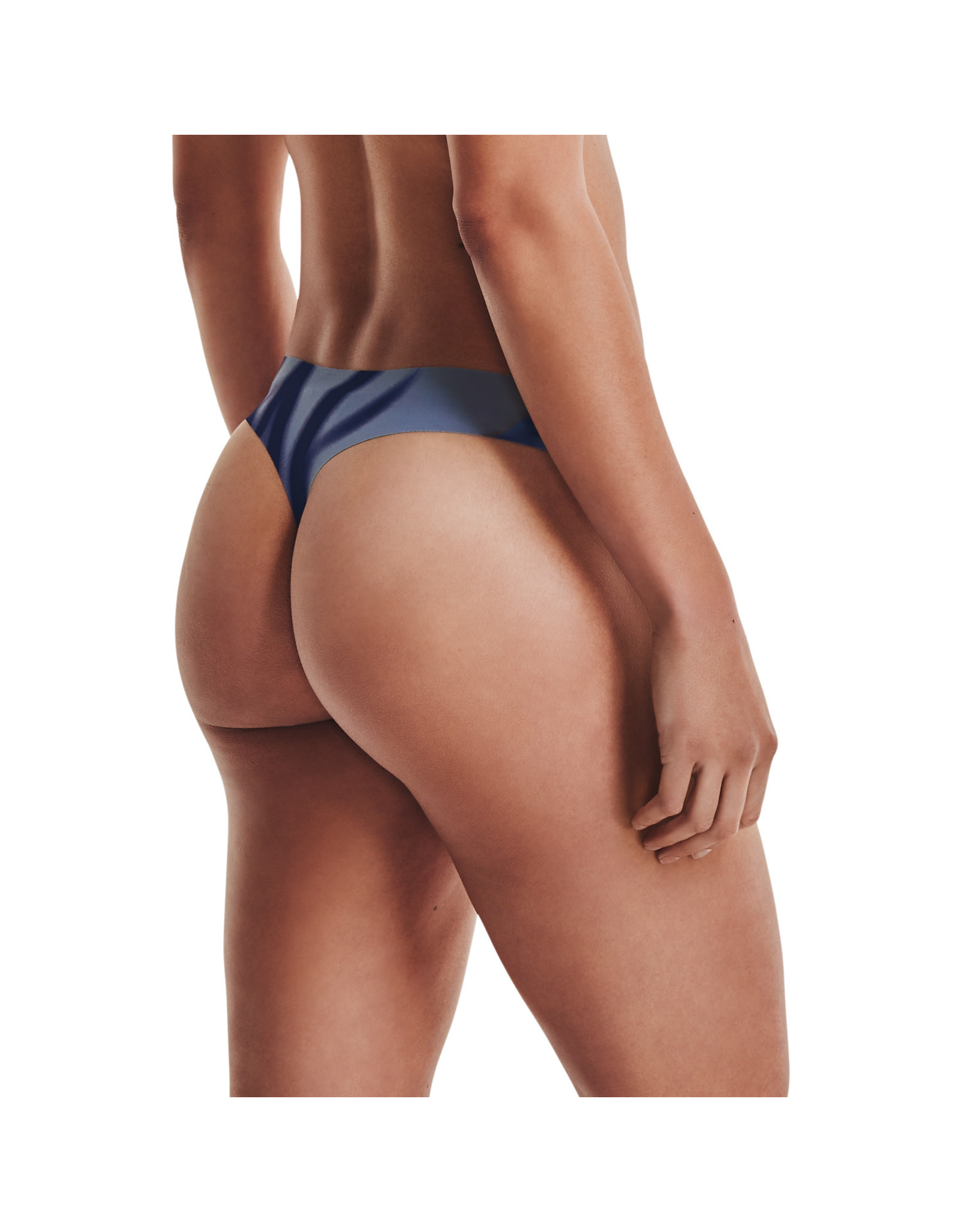 Under Armour PS Thong 3Pack Print-BLU