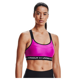 Under Armour Armour High Crossback Bra-PNK