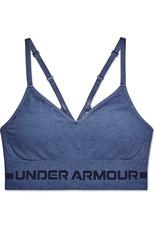 Under Armour UA Seamless Low Long Htr Bra-BLU