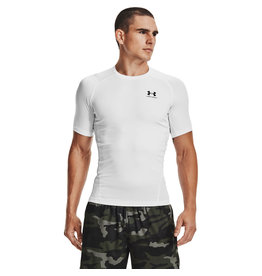 Under Armour UA HG Armour Comp SS-WHT