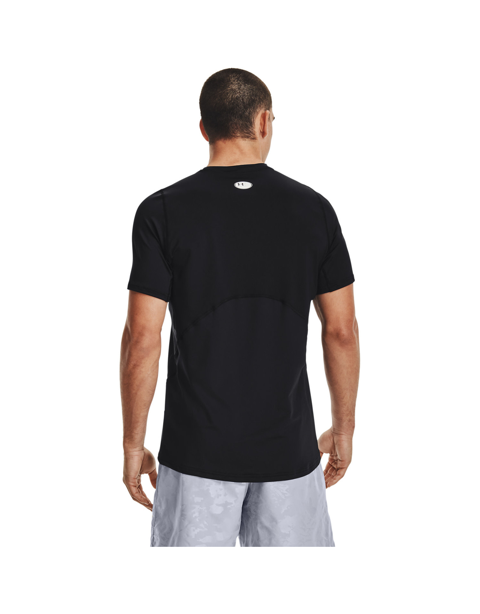 Under Armour UA HG Armour Fitted SS-BLK