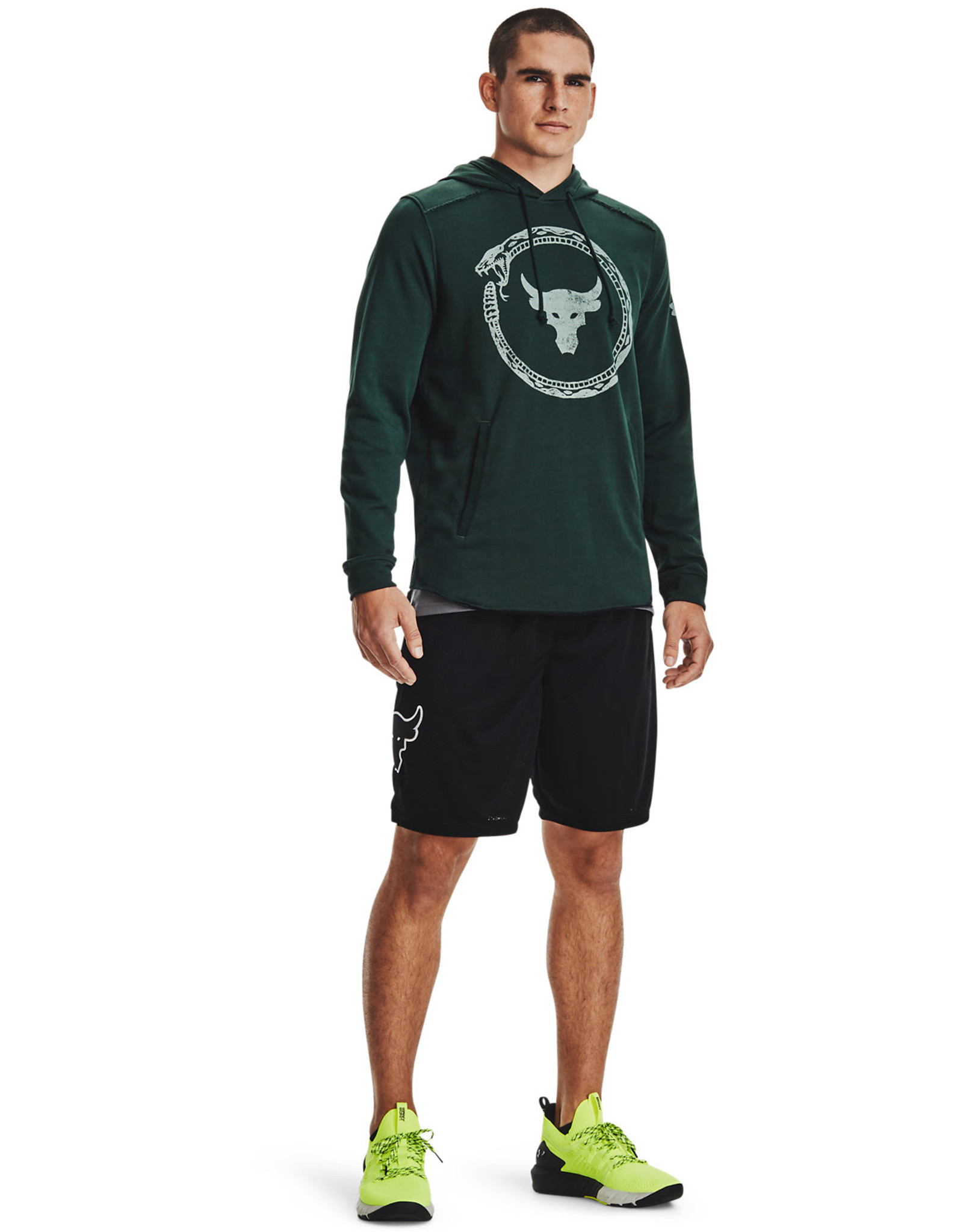 Under Armour UA Project Rock Terry Snake HD-GRN