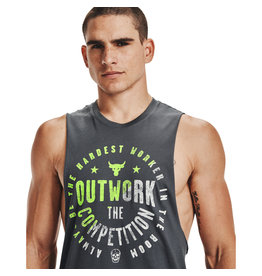 Under Armour UA Project Rock Outwork Tank-GRY