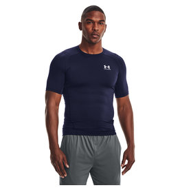 Under Armour UA HG Armour Comp SS-NVY