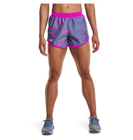 Under Armour UA Fly By 2.0 Printed Short-BLU