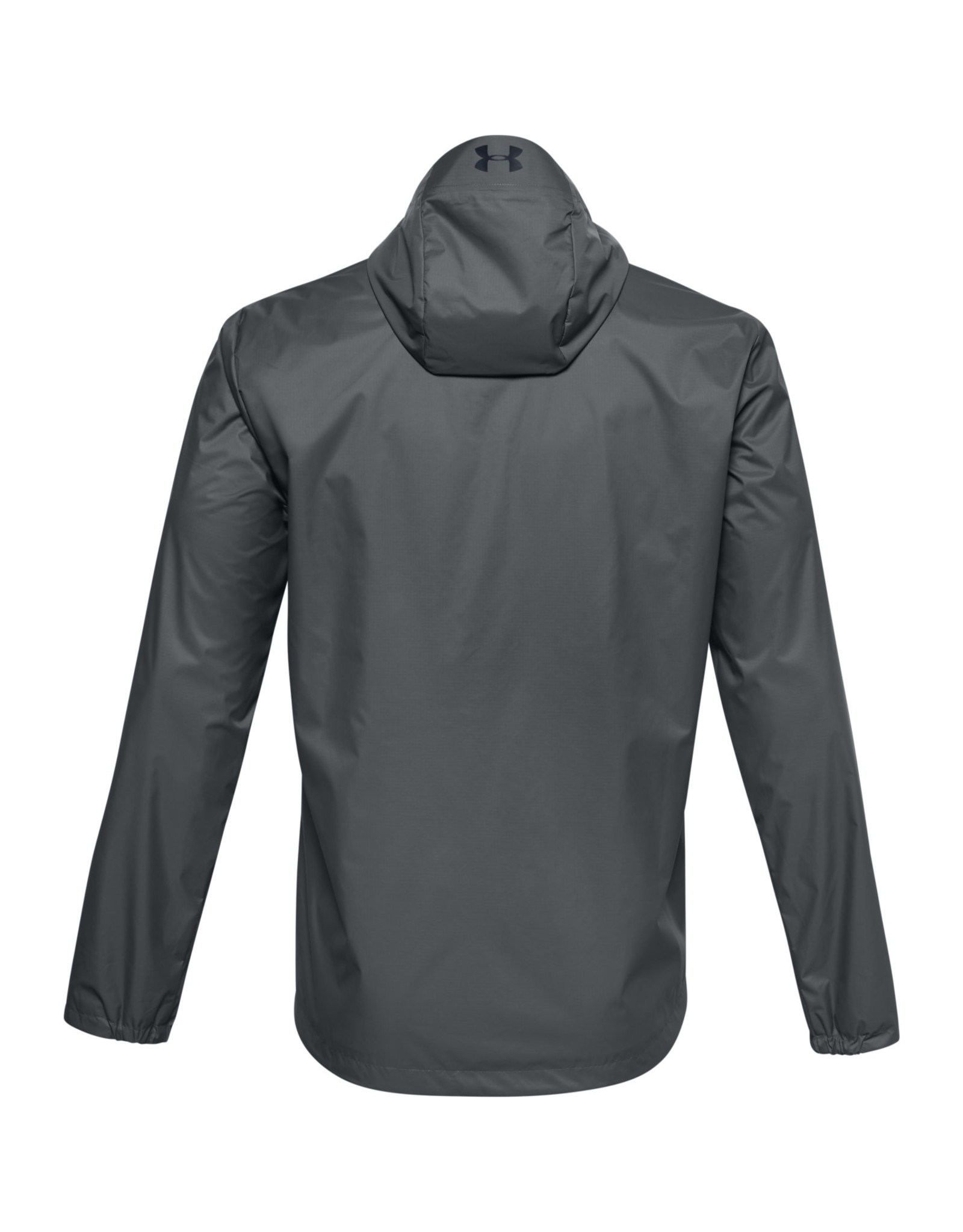 Under Armour UA Forefront Rain Jacket - Pitch Gray--Black