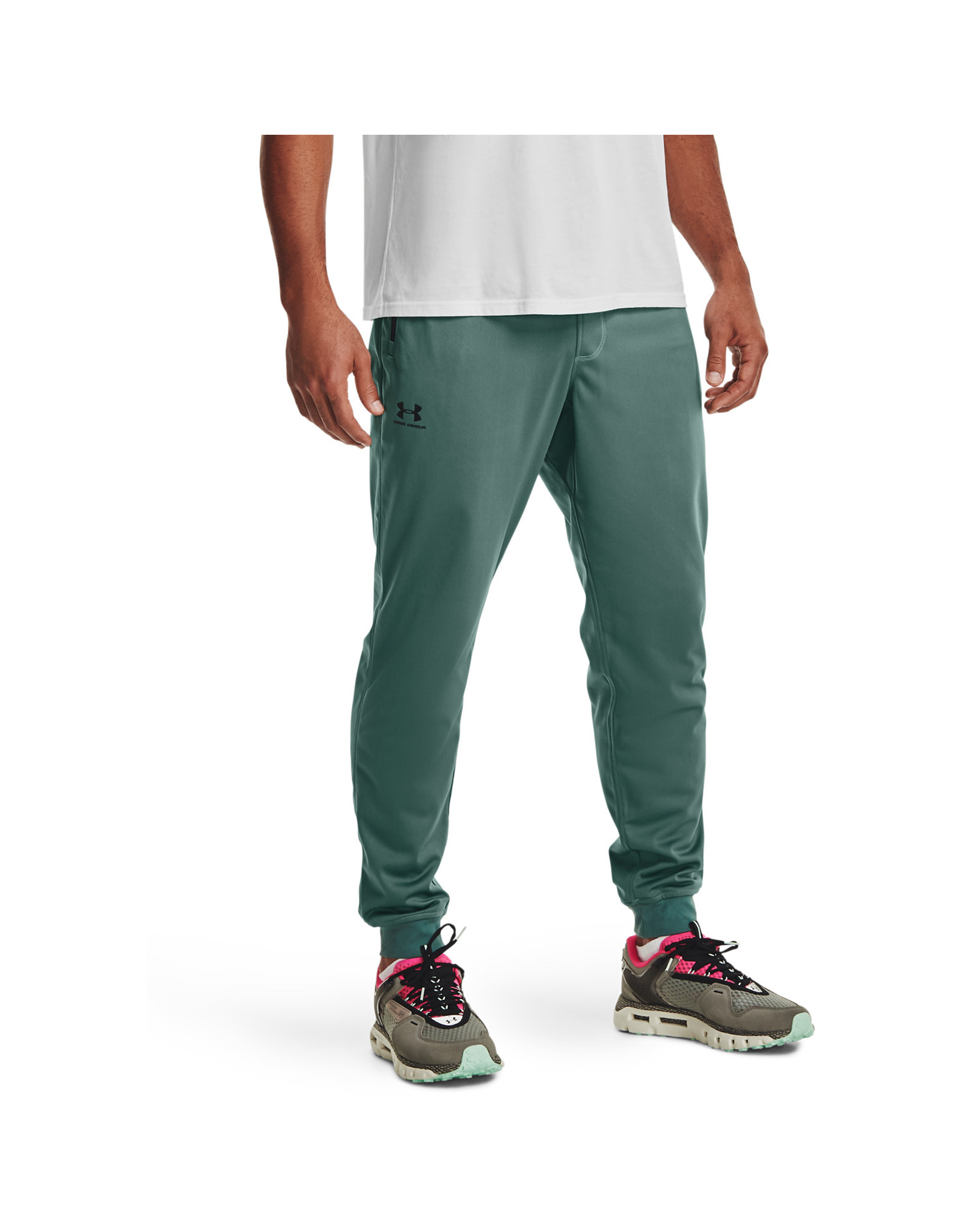 Under Armour UA Sportstyle Joggers - TODDY GREEN--Black
