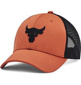 Under Armour UA Project Rock Trucker Cap - Black Orange