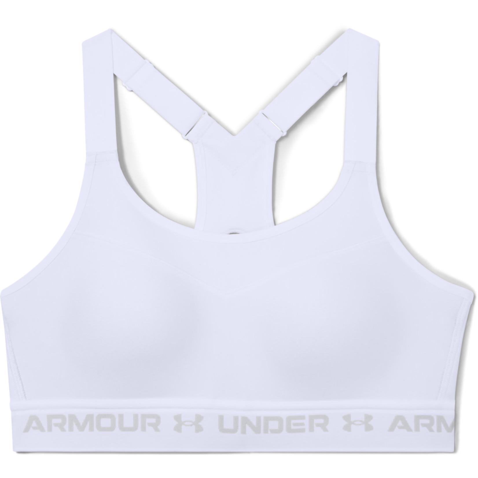 Under Armour Armour High Crossback Bra-White