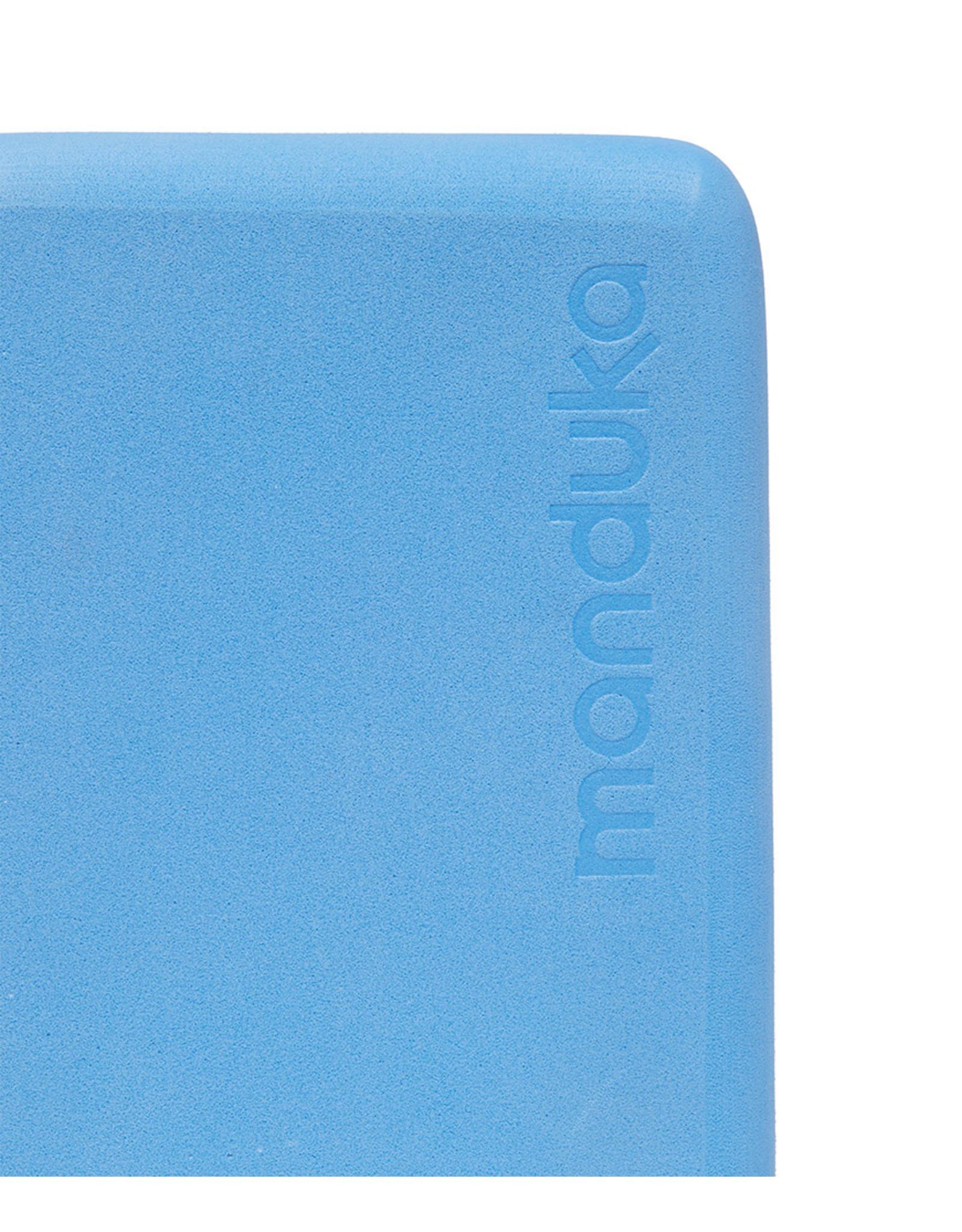 Manduka Recycled Foam Yoga Mini Block - Surf