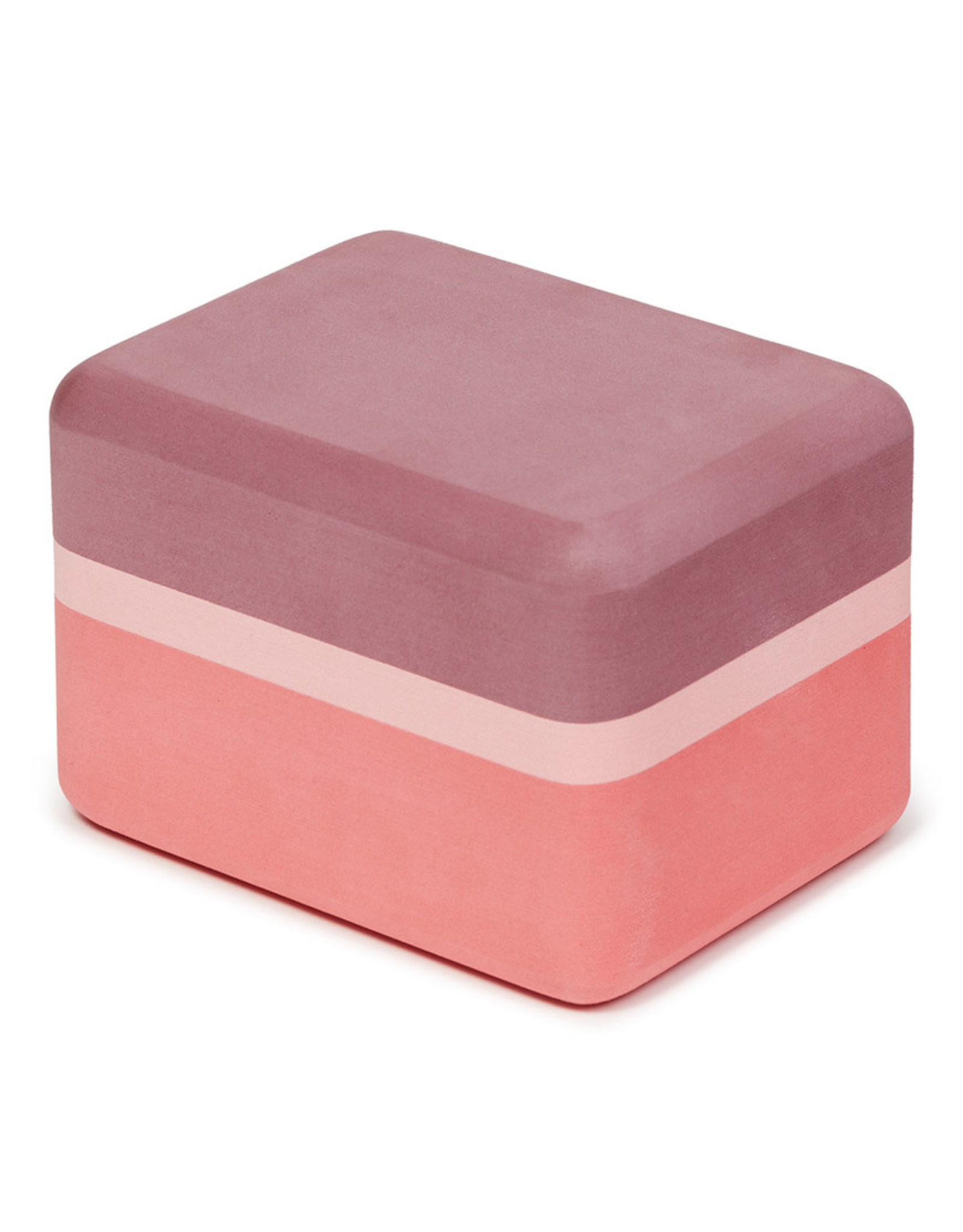 Manduka Recycled Foam Yoga Mini Block - Clay
