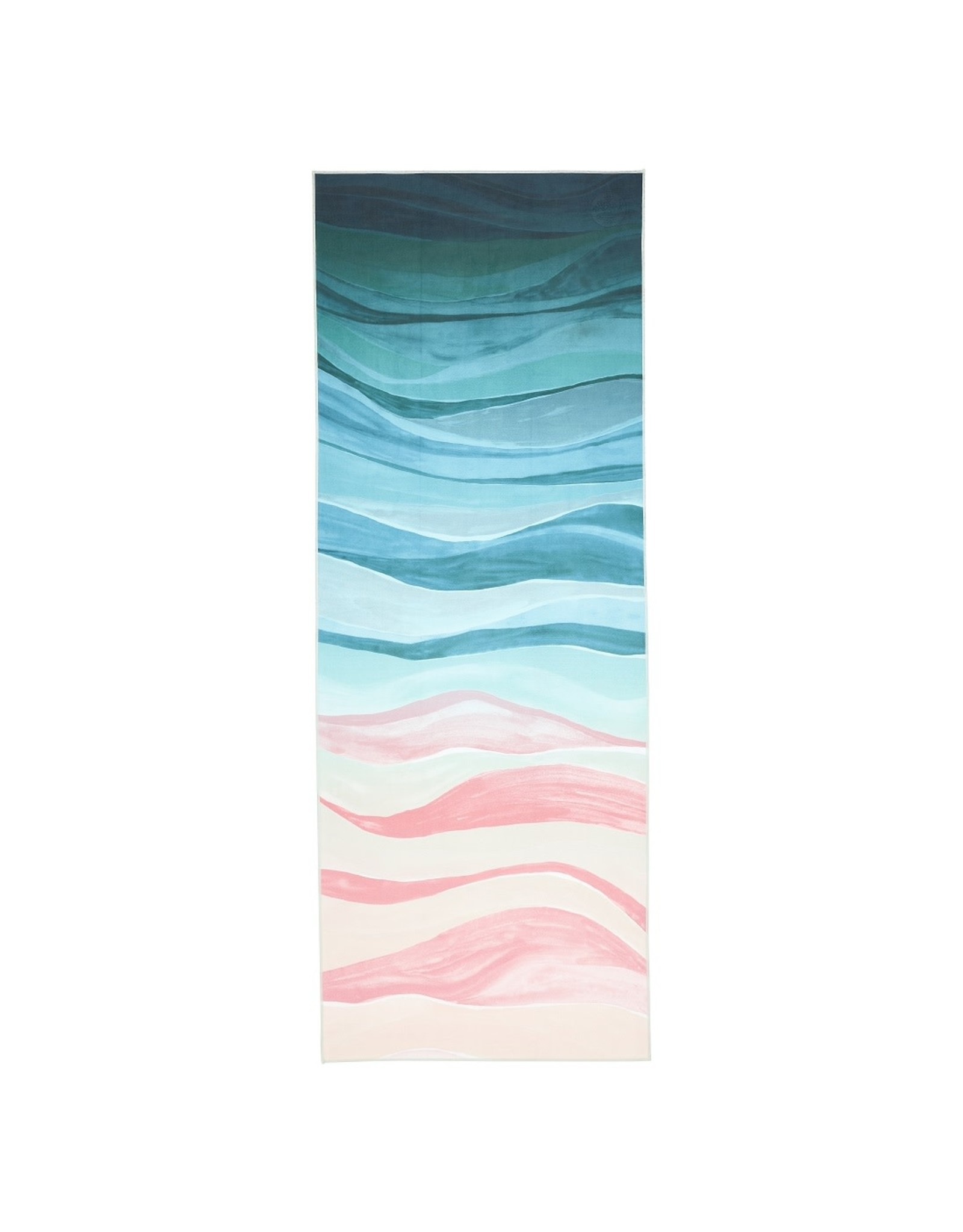 Manduka eQua Mat Towel - Standard -Ebb and Flow
