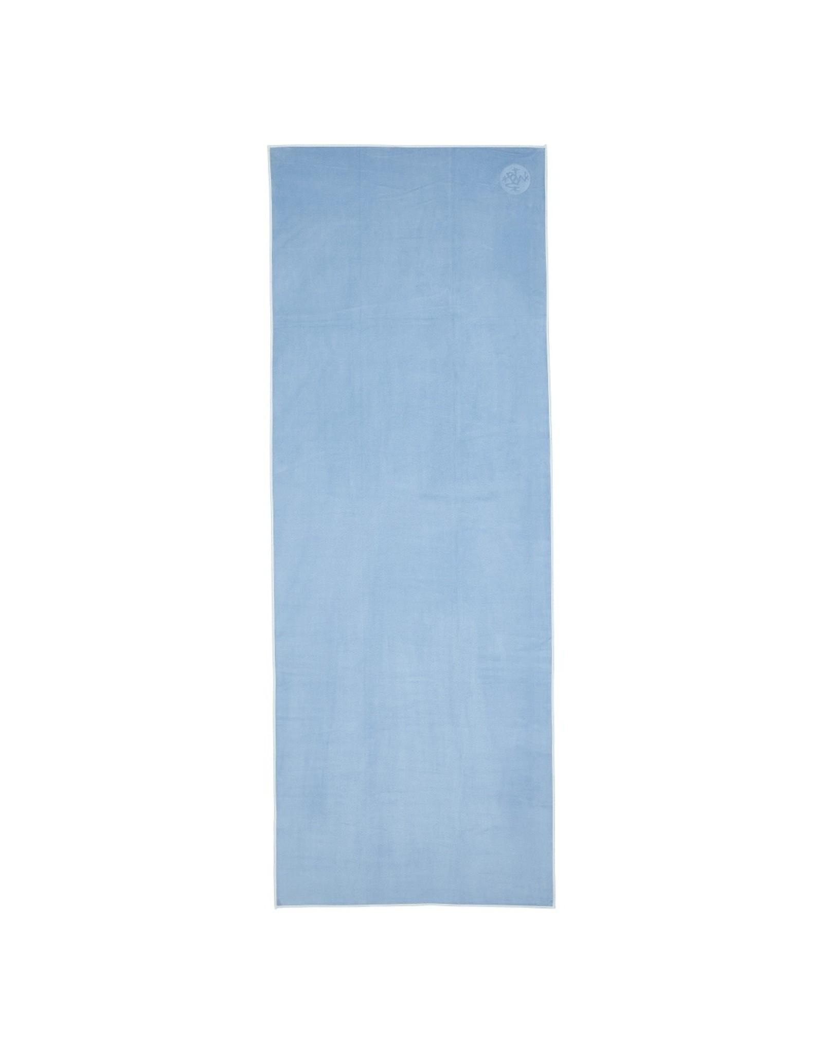 Manduka eQua Mat Towel - Standard - Clear Blue