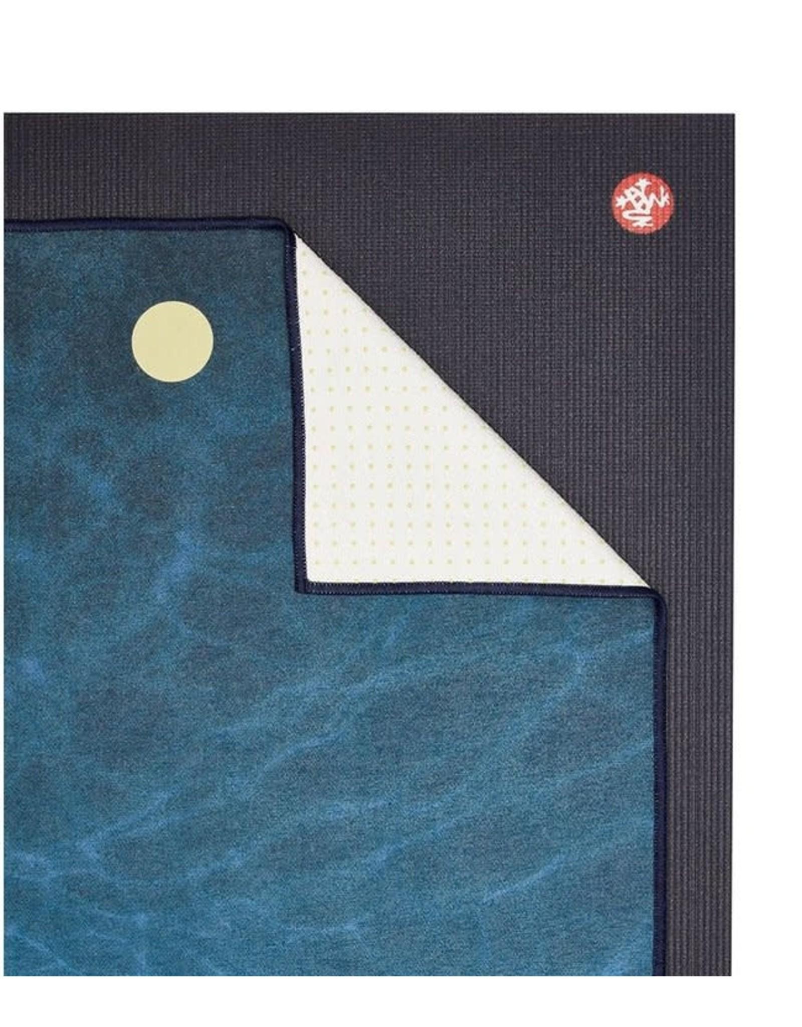 Manduka Yogitoes 2.0 towel-Turtle Sea