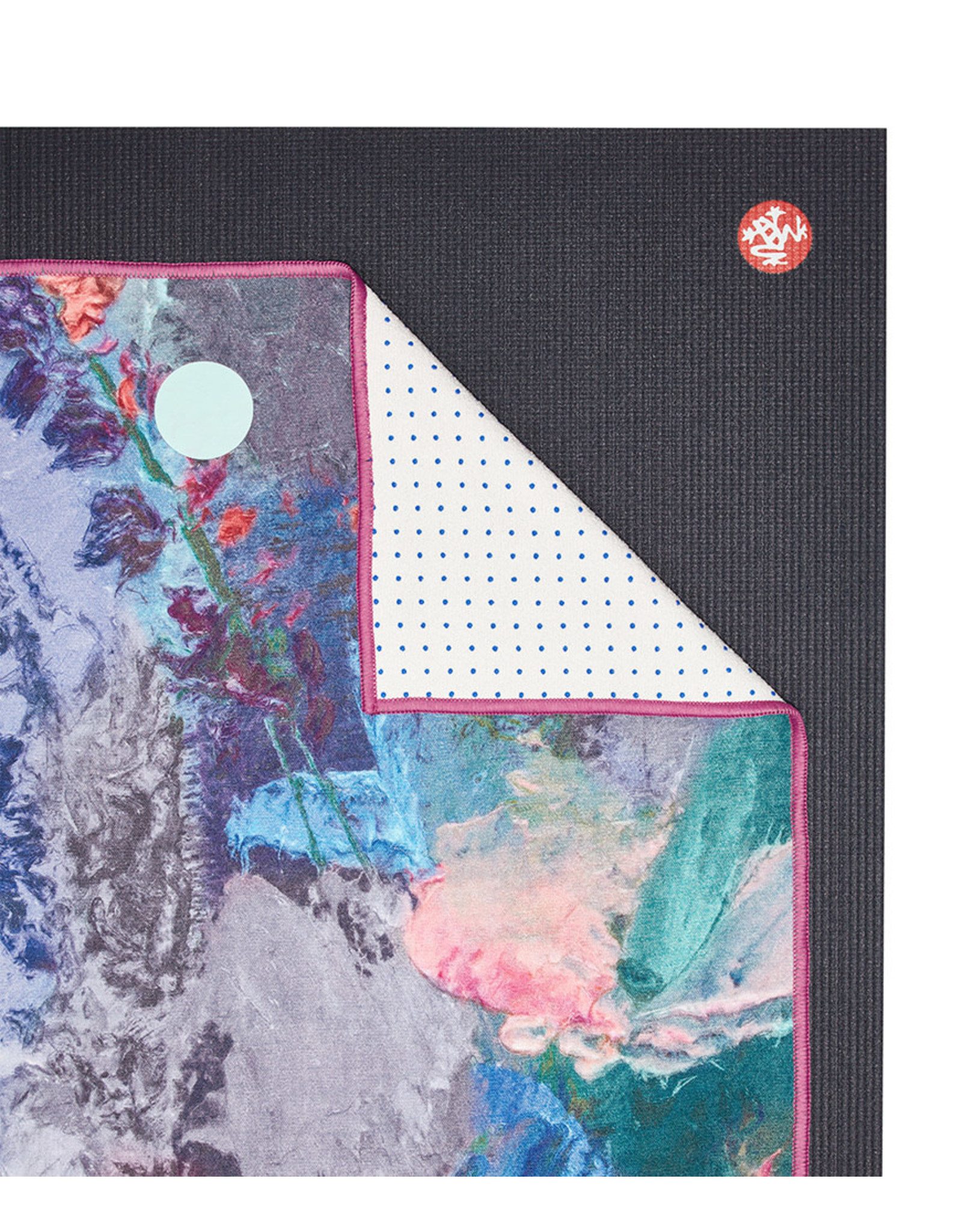 Manduka Yogitoes 2.0 towel-Illuminated Floral