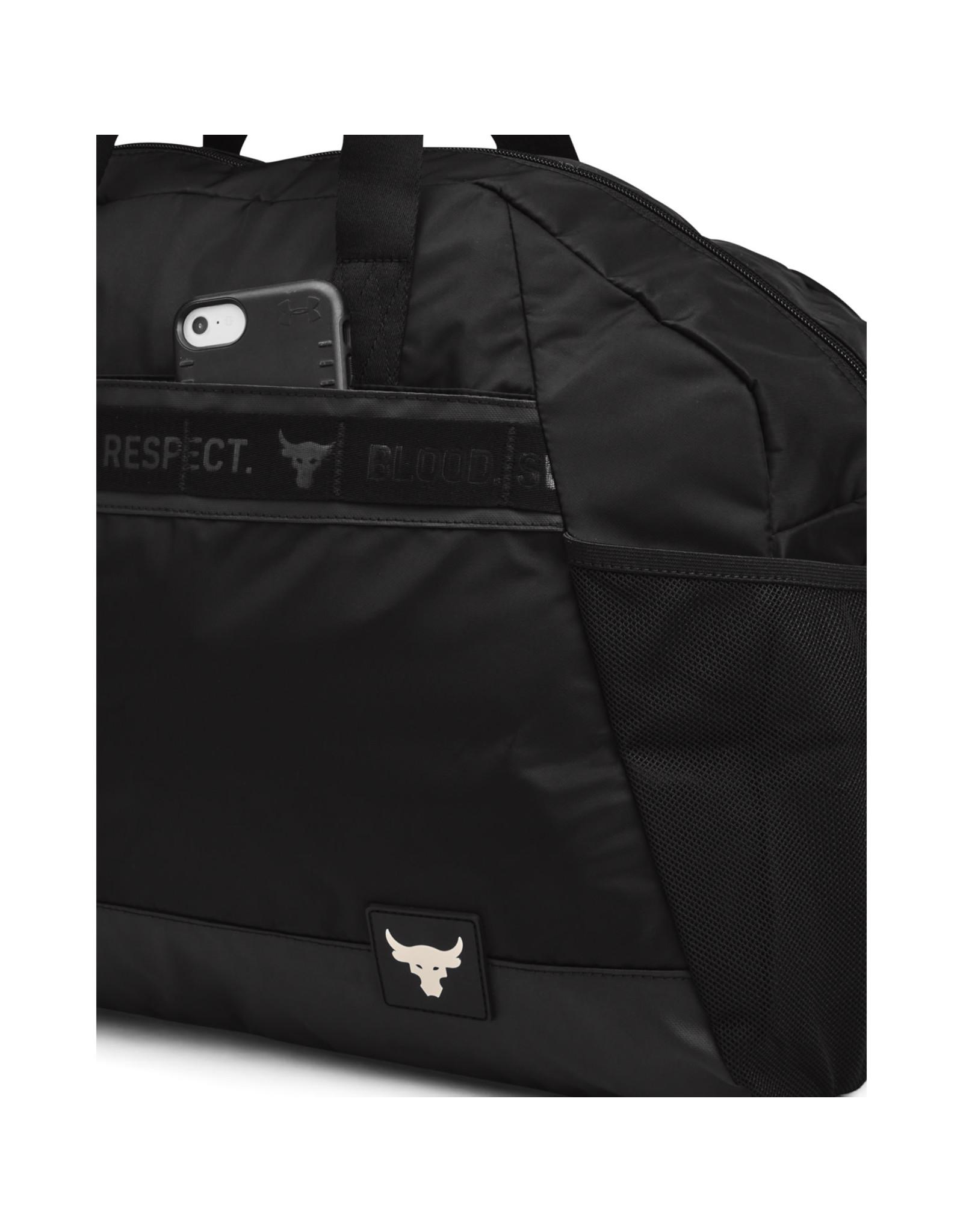 Under Armour UA Project Rock Gym Bag-Black