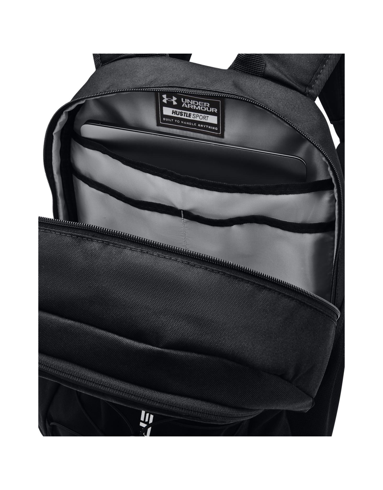 Under Armour UA Hustle Sport Backpack-Black