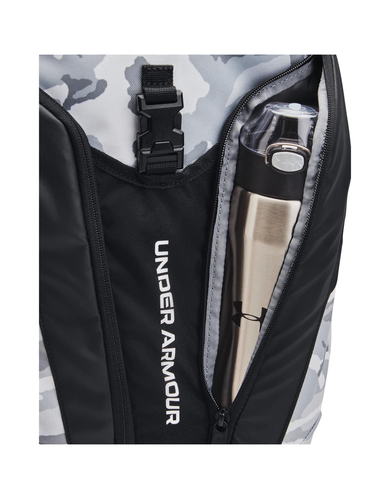 Under Armour UA Hustle Pro Backpack-White