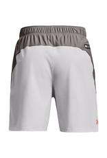 Under Armour UA Knit Woven Hybrid Shorts-Gray