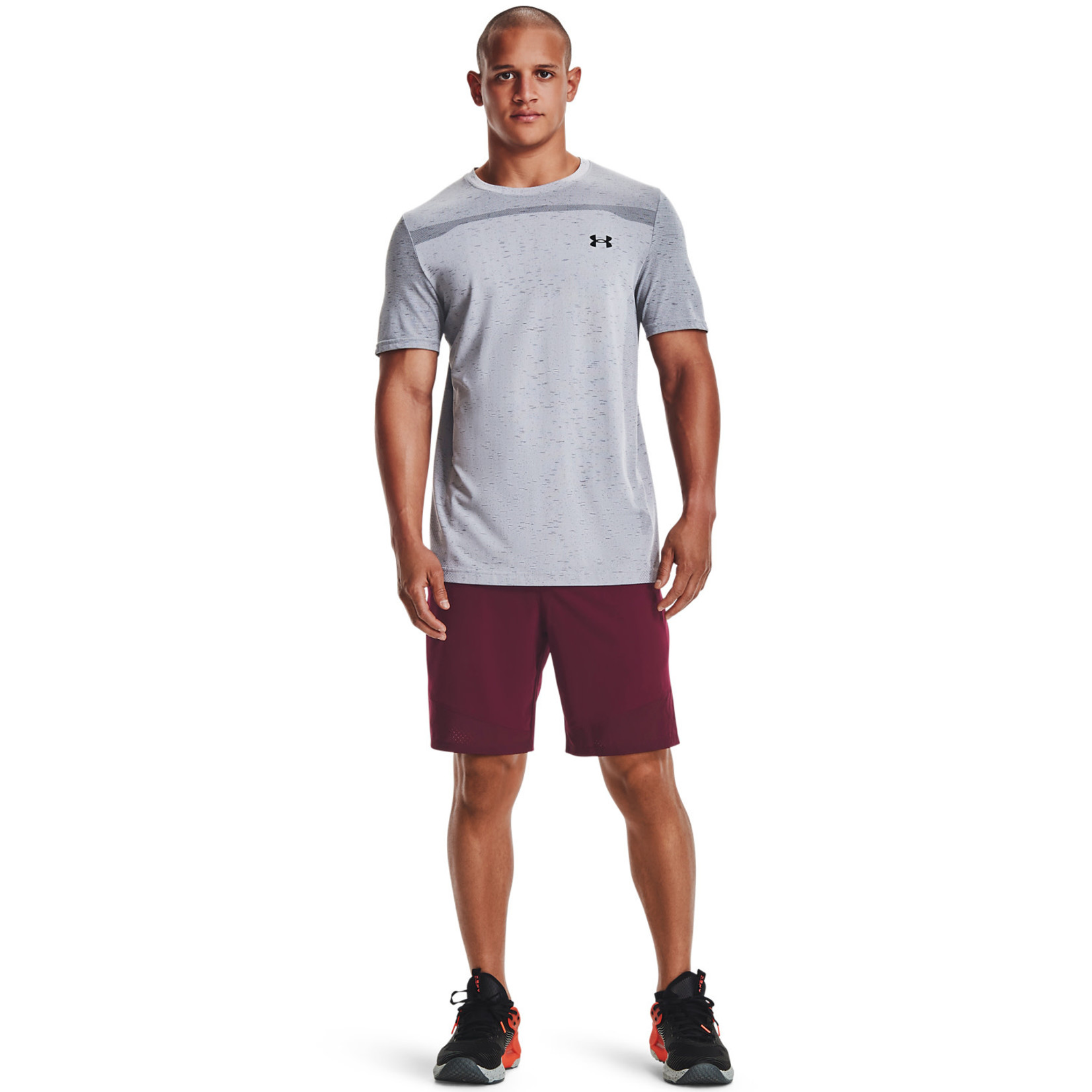 Under Armour UA Vanish Woven Shorts-Red