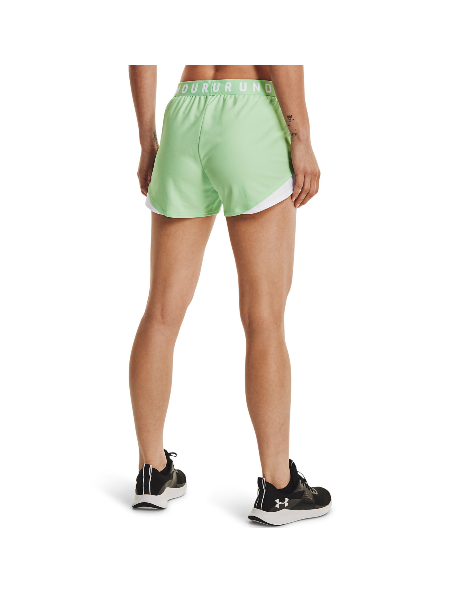 Under Armour Play Up Shorts 3.0-Green