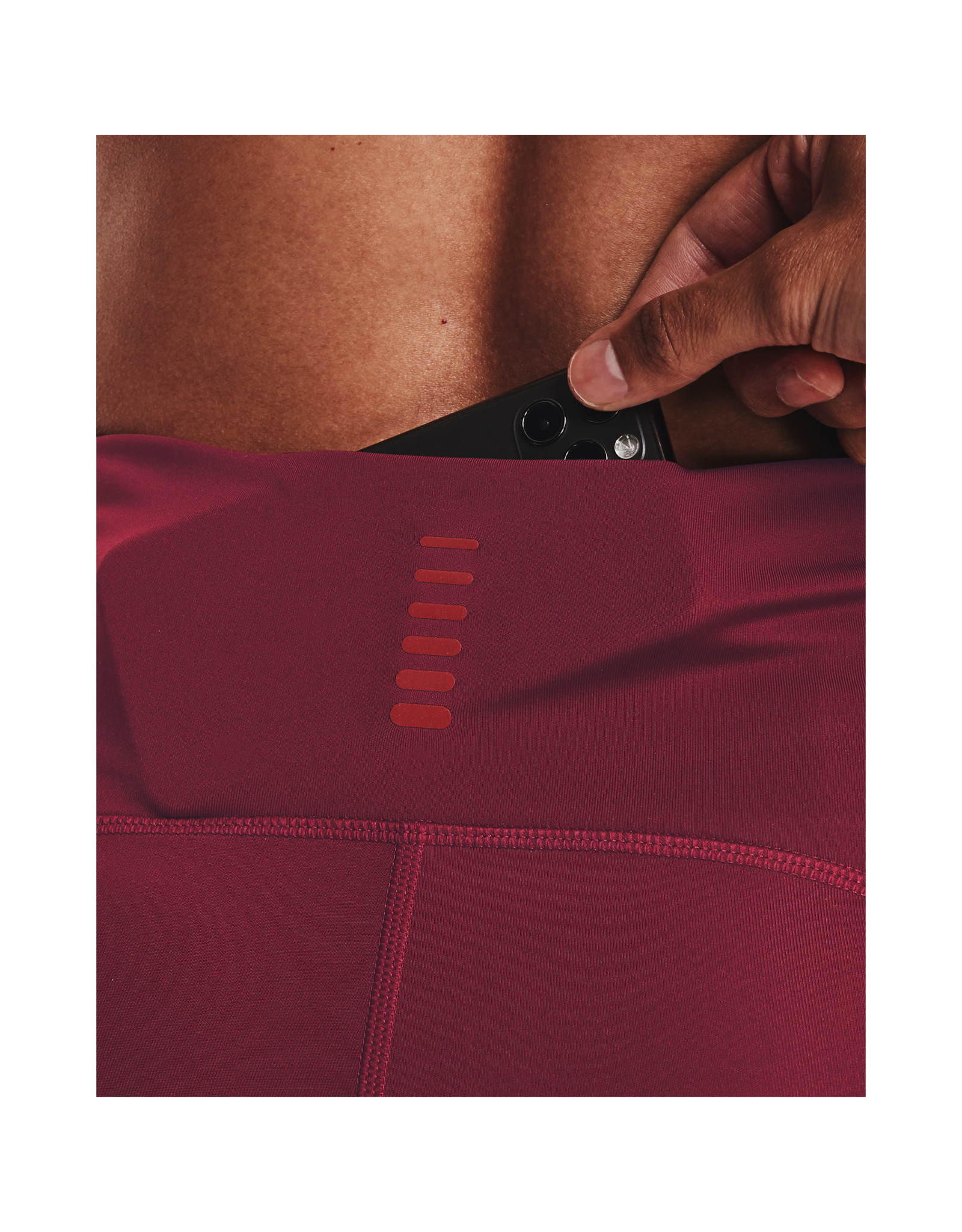 Under Armour UA Fly Fast 2.0 Print Tight-Red