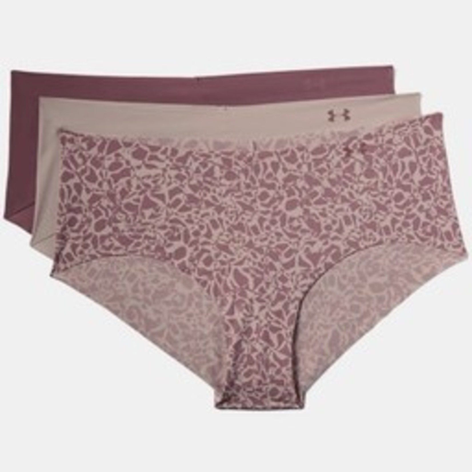 Under Armour PS Hipster 3Pack Print-Pink