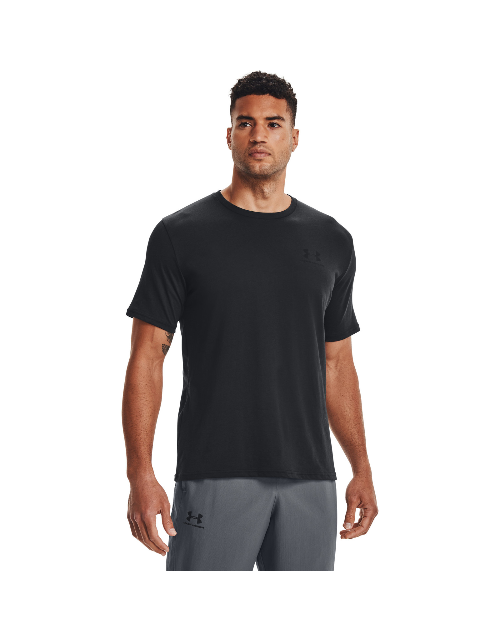 Under Armour UA SPORTSTYLE LC SS-Black