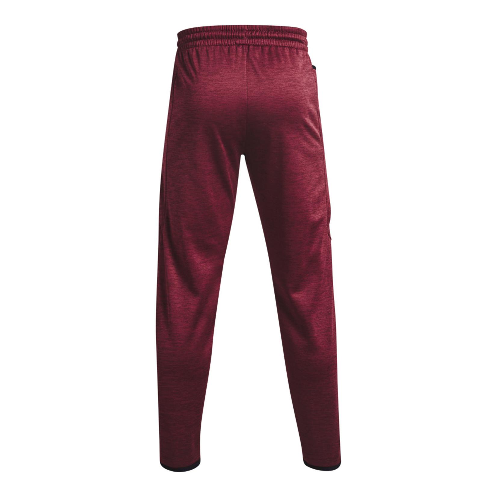 Under Armour UA Armour Fleece Twist Pants-Red