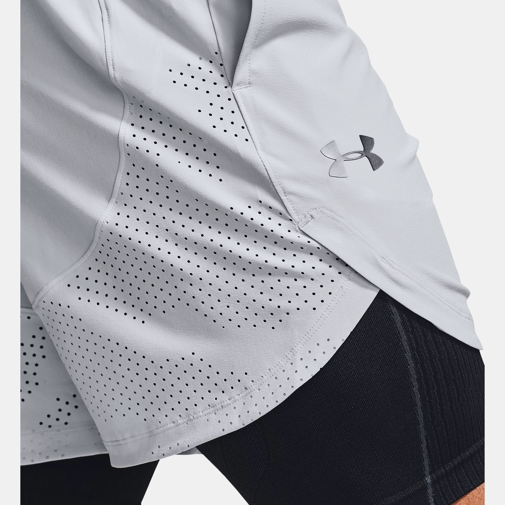 Under Armour UA Stretch-Woven Shorts-Gray