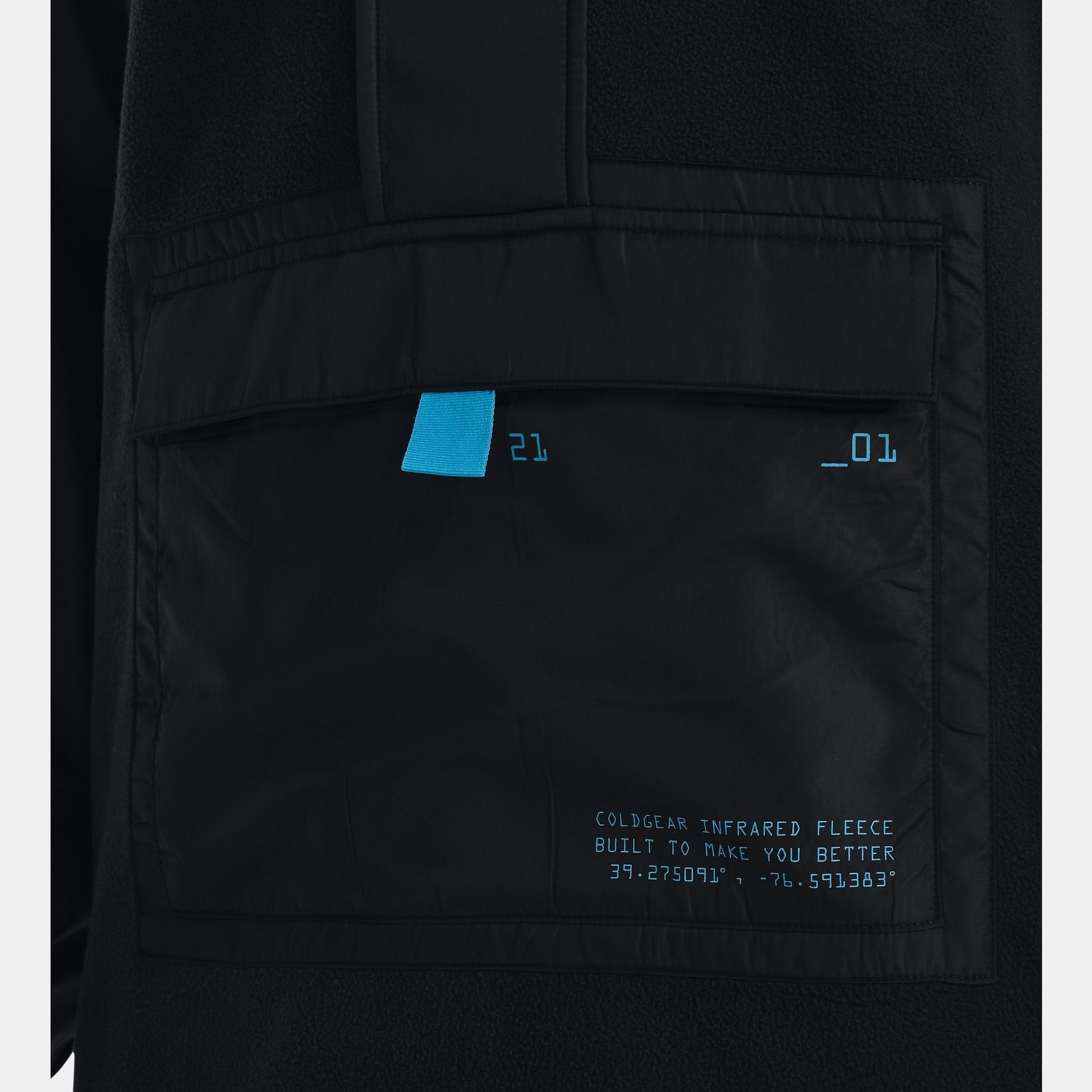 Under Armour UA ColdGear® Infrared Utility ½ Zip Jacket-Black