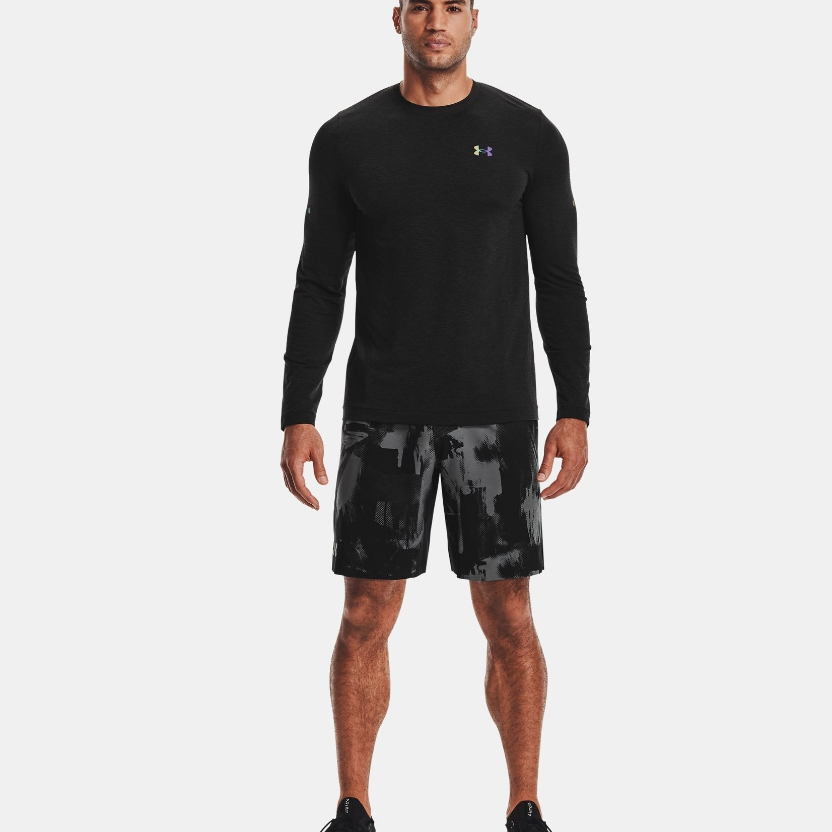 Under Armour UA RUSH™ Seamless Long Sleeve - Black